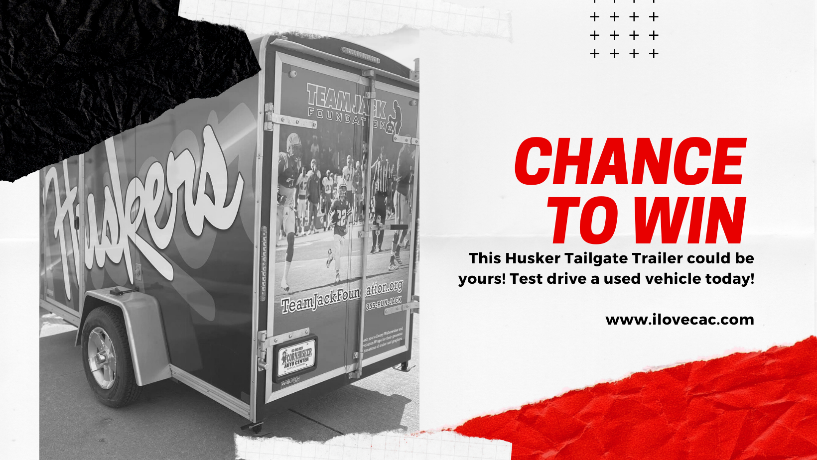 Chance To Win A Husker Tailgate Trailer